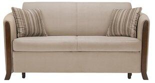 Dīvāns Orland Emi 3FBK, brūns цена и информация | Диваны прямые и угловые, кресла | 220.lv