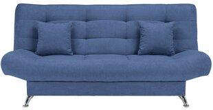 Dīvāns Viola 3K, zils cena un informācija | Dīvāni un krēsli | 220.lv