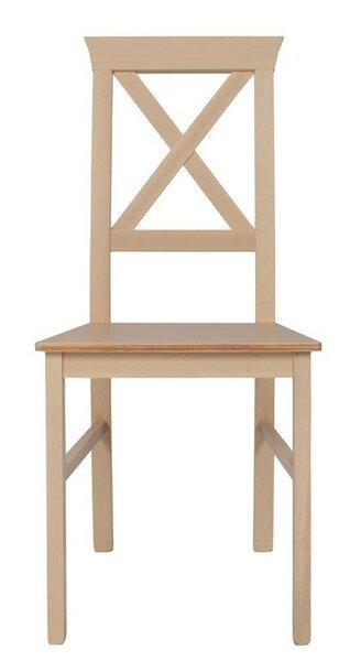 2 krēslu komplekts Alla 4, gaiši brūns