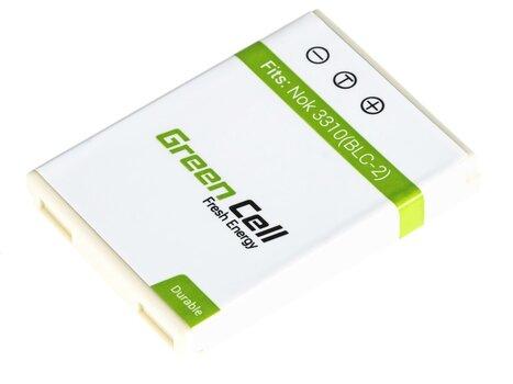 Green Cell piemērots Noka 3310 3315 3330 3350 3410 3510 3510 3520 5510 6650 6800 6810 cena un informācija | Akumulatori mobilajiem telefoniem | 220.lv