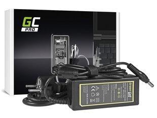 Green Cell PRO AC Adapteris piemērots Toshiba Satellite C650 C660D L750 Asus X550C X550V R510 Lenovo G530 19V 3.42A cena un informācija | Lādētāji portatīvajiem datoriem | 220.lv