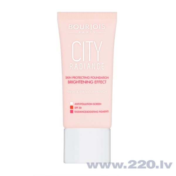 Krēmveida pūderis Bourjois City Radiance 30 ml
