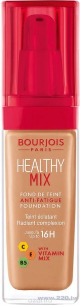 Tonālais krēms Bourjois Healthy Mix 30 ml