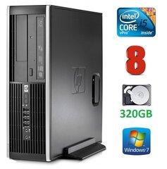 HP 8300 Elite SFF i5-3470 8GB 320GB DVDRW WIN7Pro