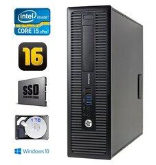 HP 800 G1 SFF I5-4570 16GB 120SSD+1TB DVD WIN10Pro cena un informācija | HP 800 G1 SFF I5-4570 16GB 120SSD+1TB DVD WIN10Pro | 220.lv
