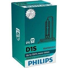 PHILIPS D1S 4800k Xenon X-TREME VISION GEN2 +150% spuldze cena un informācija | Autospuldzes | 220.lv