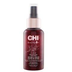 Spīdumu piešķirošs toniks krāsotiem matiem Farouk Systems Chi Rose Hip Oil Repair and Shine 59 ml