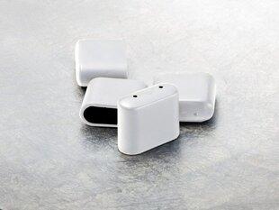 4-u krēslu aizsargu komplekts Toulouse, 2x5x4 cm, balts