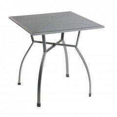 Āra galds Toulouse, 70x74x70 cm, pelēks