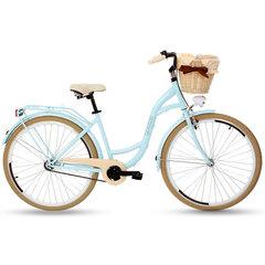 """Sieviešu pilsētas velosipēds Goetze Colours 28"""", zils/krēmkrāsas"""