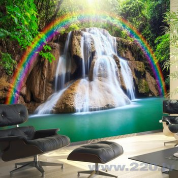 Foto tapete - Waterfall of Fulfilled Wishes