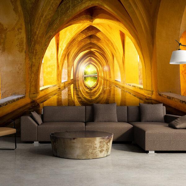 Foto tapete - The Golden Corridor