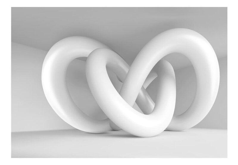 Foto tapete - White weave