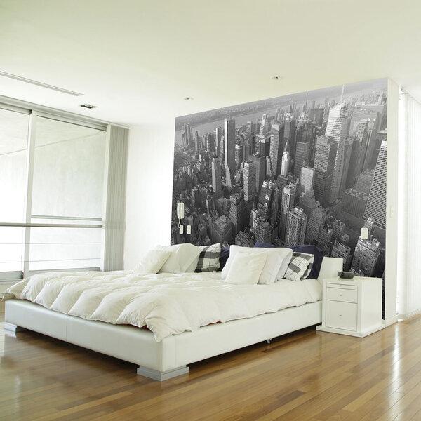 Foto tapete - New York: skyscrapers (bird's eye view)