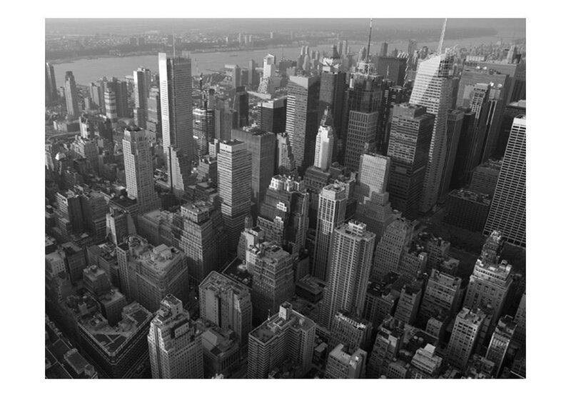 Foto tapete - New York: skyscrapers (bird's eye view) cena