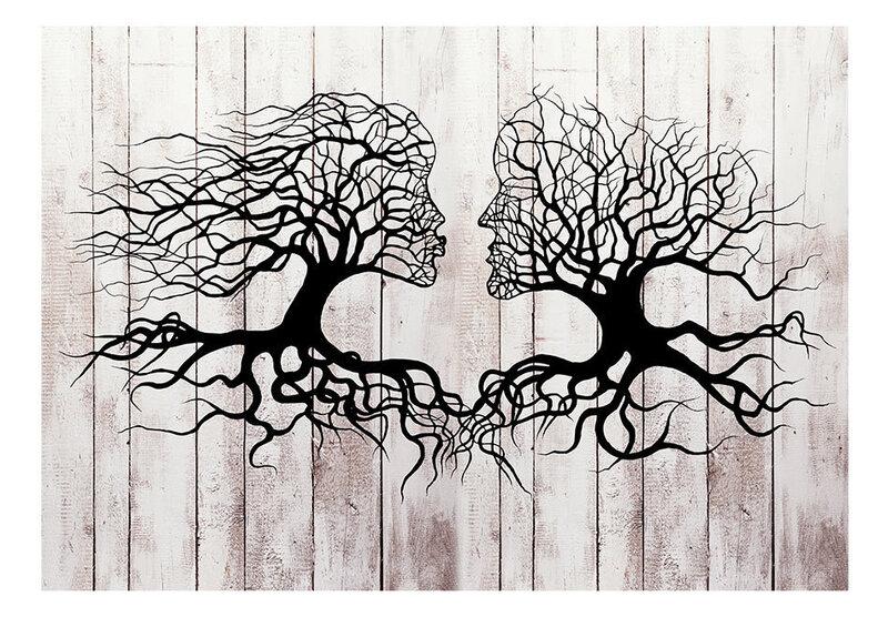 Foto tapete - A Kiss of a Trees atsauksme