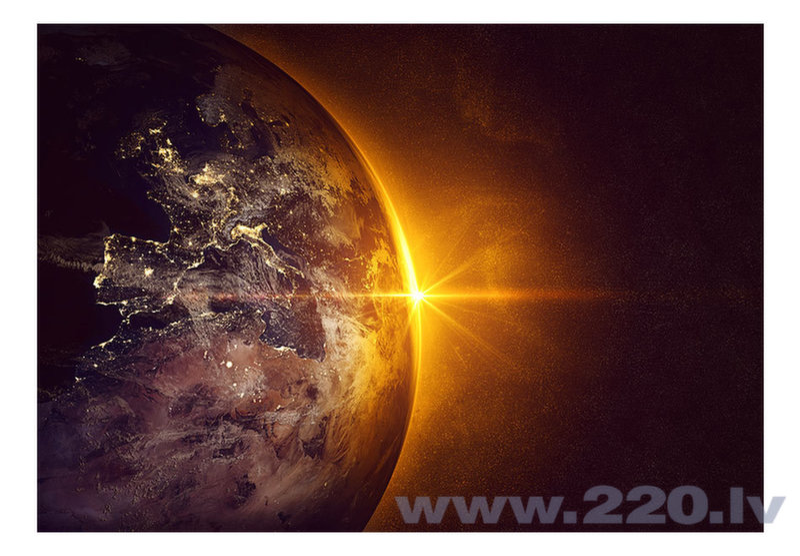 Foto tapete - Golden Earth atsauksme