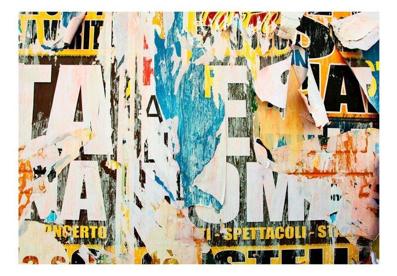 Foto tapete - Street Poster atsauksme