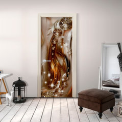 Foto tapete durvīm - Photo wallpaper – Abstraction I cena un informācija | Fototapetes | 220.lv