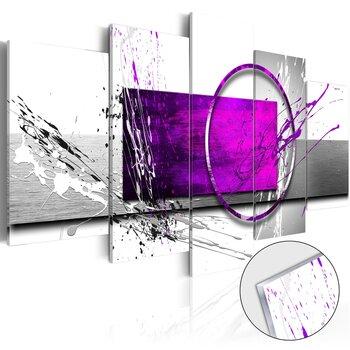 Akrila apdruka - Purple Expression [Glass]