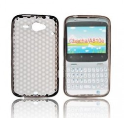 Forcell HTC A810E ChaCha gumijots telefona maks BACK CASE LUX