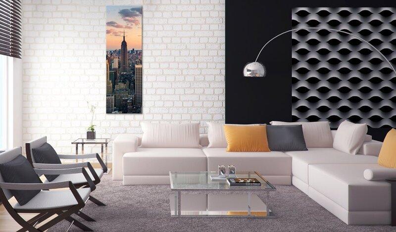 Glezna - Solitary skyscraper atsauksme