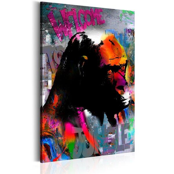 Glezna - Welcome to the Jungle cena un informācija | Gleznas | 220.lv