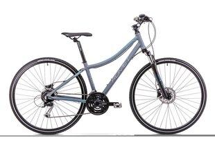 Sieviešu krosa velosipēds Romet Orkan 3 D 2019, pelēks