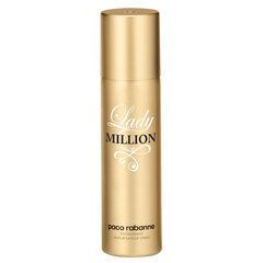 Dezodorants Paco Rabanne Lady Million 150 ml cena un informācija | Dezodorants Paco Rabanne Lady Million 150 ml | 220.lv