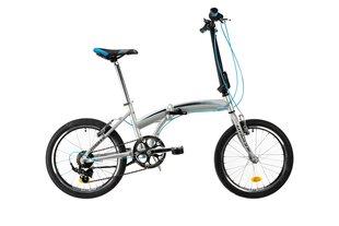 """Salokāms velosipēds DHS 2095 20"""", pelēks"""