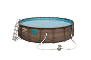 Baseina karkass Bestway Power Steel Swim Vista, 4,88 m