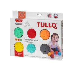 Bumbas sensorai attīstībai Tullo, smaidiņi, 6 gab., 462 cena un informācija | Rotaļlietas zīdaiņiem | 220.lv