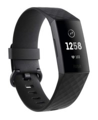 Viedaproce Fitbit Charge 3, Graphite/Melna