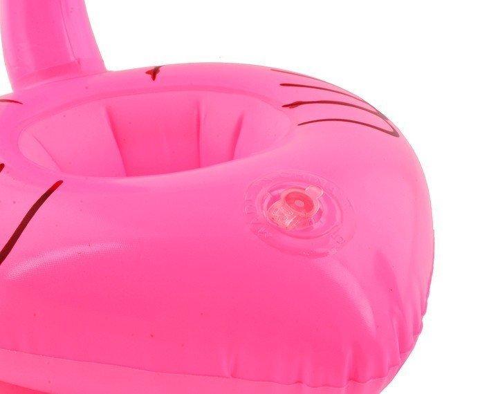 Надувной держатель напитков Фламинго, 7 см