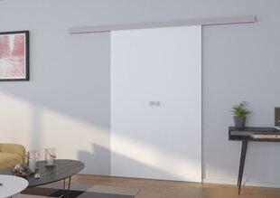 Dubultās durvis nišai Mars 120, baltas cena un informācija | Skapji | 220.lv