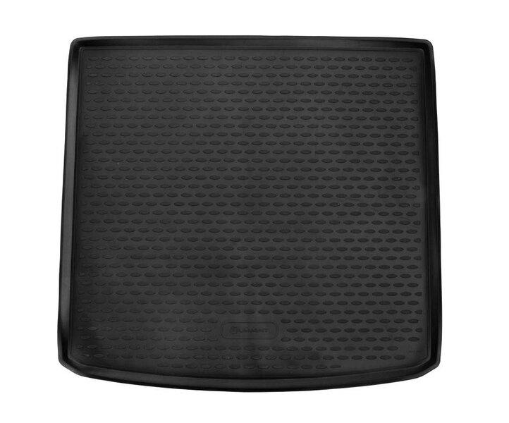 Gumijas bagāžnieka paklājs VOLKSWAGEN Touran 2015->, 5 sēdekļi, melns /N41039