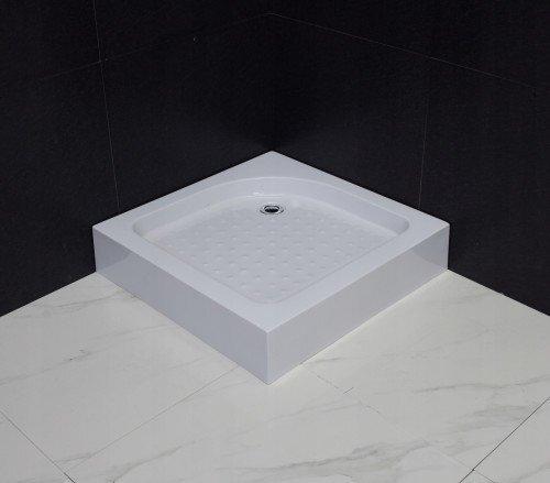 Dušas kabīne Mexen Rio ar paliktni un sifonu, 70x70, 80x80, 90x90, matēta cena