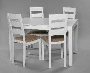Столовый комплект Trento/Parma, белый цена и информация | Комплекты мебели для столовой | 220.lv