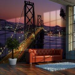Fototapete - Burvīgs vakars Sanfrancisko