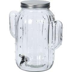 Stikla burka - krūze ar krānu Kaktuss 8 L