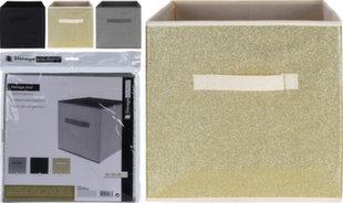Kaste mantām Storage Solutions 30x30x30 cm