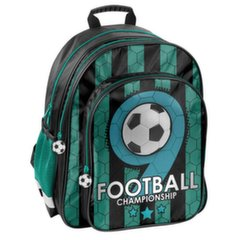 Ergonomiska mugursoma Paso Football PP19F-090 cena un informācija | Skolas somas | 220.lv