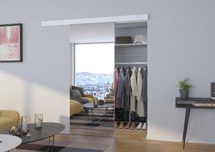 Nišas durvis ar spoguli Baron 90, baltas