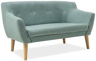 Dīvāns Bergen 2, gaiši zaļš
