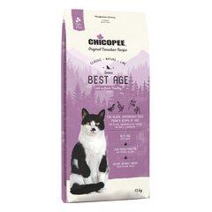 Chicopee gados veciem kaķiem ar lieko svaru, ar mājputnu gaļu Senior Best Age cena un informācija | Chicopee gados veciem kaķiem ar lieko svaru, ar mājputnu gaļu Senior Best Age | 220.lv