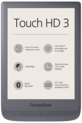 "PocketBook Touch HD 3, 6"", pelēks"