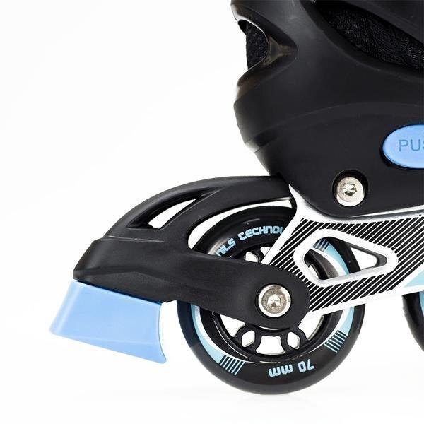 Regulējamas skrituļslidas Nils Extreme NJ1828A, melnas