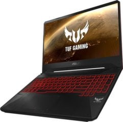 Asus TUF Gaming FX505DY-AL016 8 GB RAM/ 256 GB M.2 PCIe/ 1TB HDD/ Windows 10 Pro цена и информация | Ноутбуки | 220.lv
