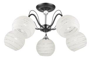 Lampex gaismeklis Akira 5 cena un informācija | Griestu lampas | 220.lv