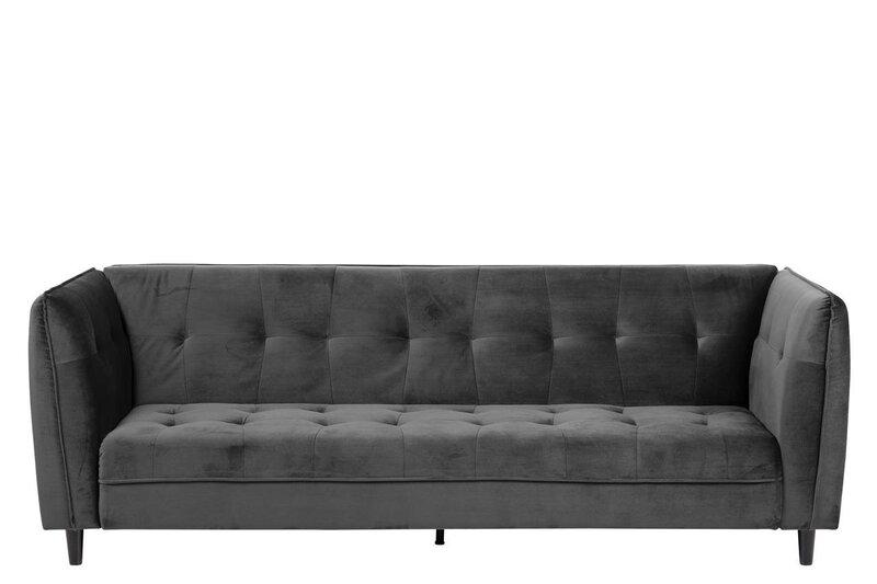 Dīvāns Jonna, pelēks